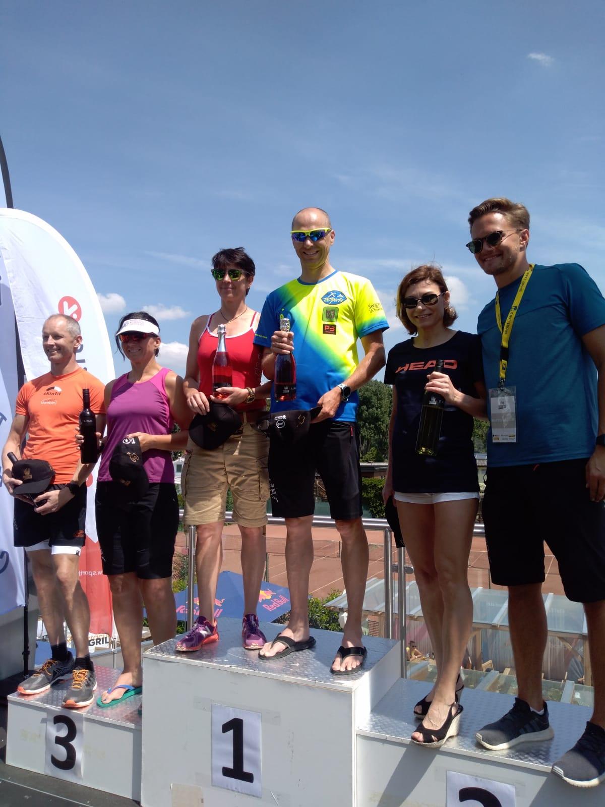 AK Sieg und Platz 2 in Klosterneuburg